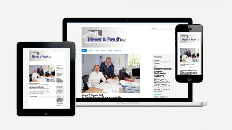 Homepage Meyer & PReuth GbR